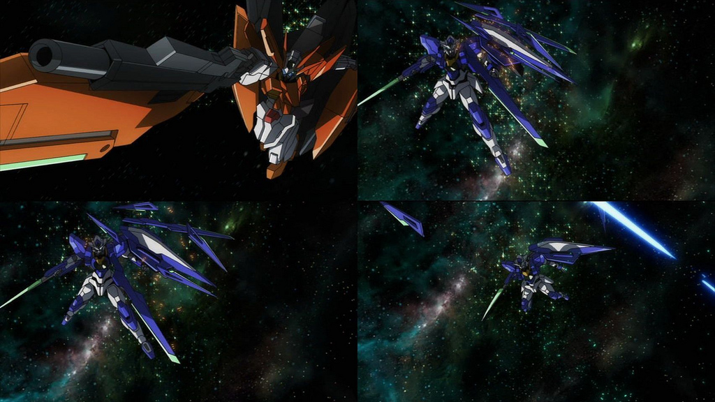 Gundam 00 Movie. Gundam Harute